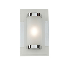 Artcraft AC7071 - Turin 1 Light AC7071 Chrome Bathroom Vanity