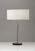 Adesso 3444-22 - Wishbone Table Lamp
