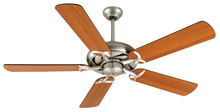 "Craftmade K10853 - Civic 52"" Ceiling Fan Kit in Brushed Satin Nickel"