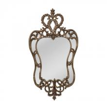 Mirror Masters (Yellow) MP3259-0010 - Queensdale Edward III Style Mirror In Aged Bronze