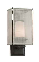 Troy B2201WB - One Light Weathered Bark Wall Light