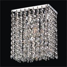 Glow Lighting 596CW7/7SP-7C - Urban Chic Wall Sconce