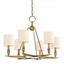 Hudson Valley 4086-AGB - 6 Light Chandelier